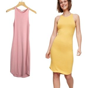 Aritzia Wilfred Free Chrissy Bodycon Jersey Dress